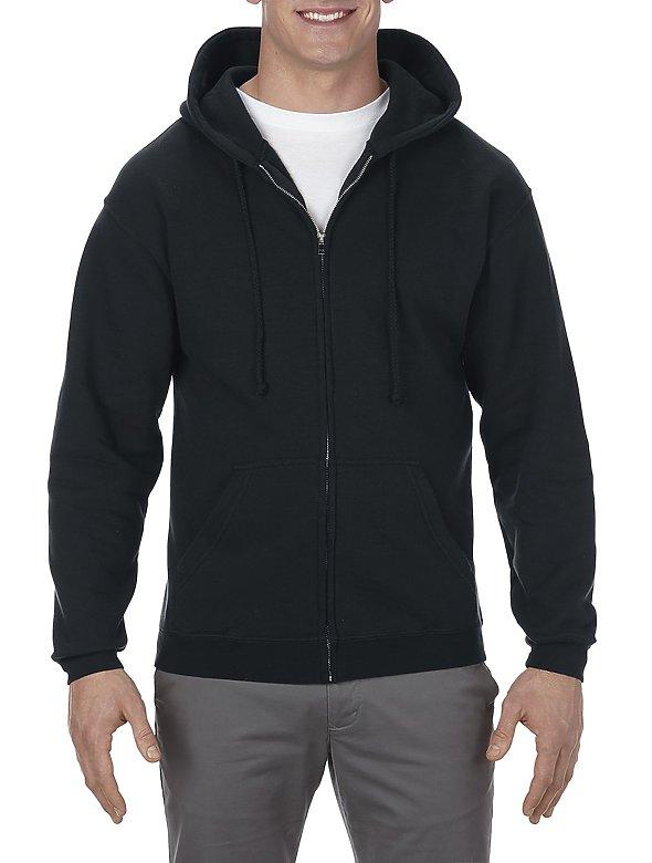 15oz Full-ZipHooded Sweatshirt
