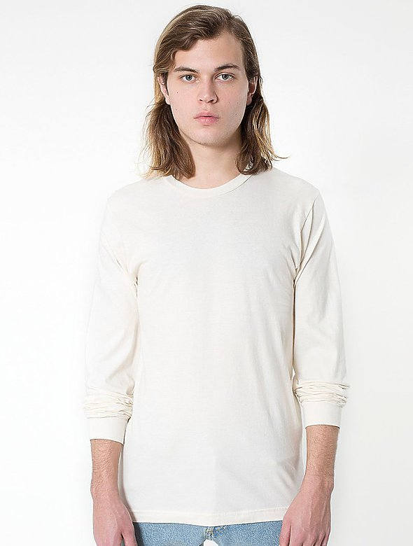 Organic Jersey Long-Sleeve Tee
