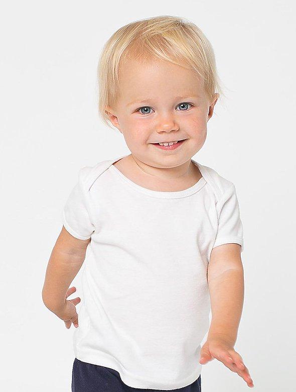 Infant Rib Knit Lap Neck