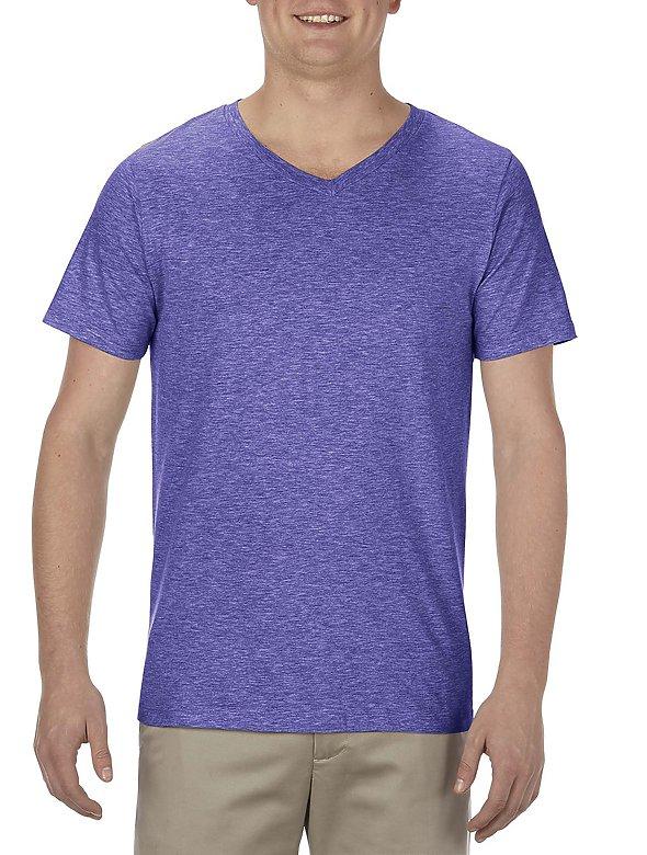 7.5oz Ringspun V-Neck T-Shirt