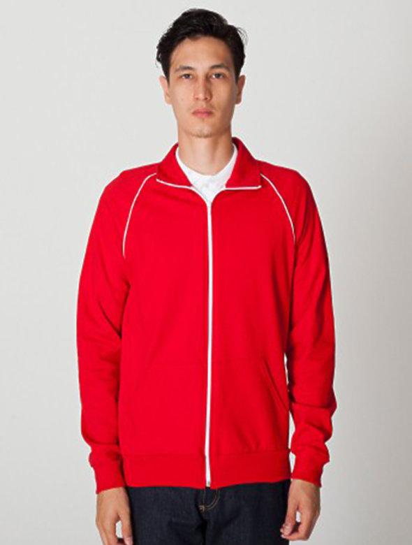 12oz UNISEX FleeceTrack Jacket