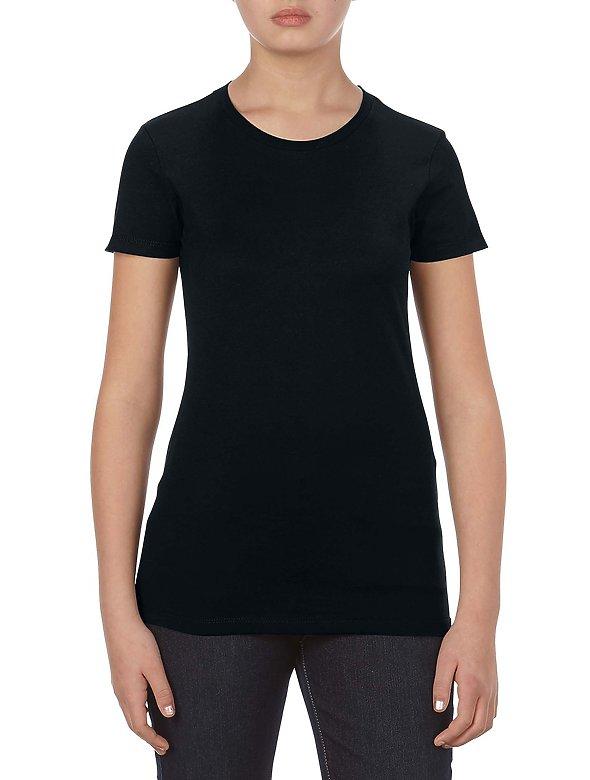 Jr Ladies 7.5ozRingspunT-Shirt