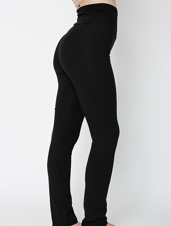 12oz Cotton Spandex Yoga Pant