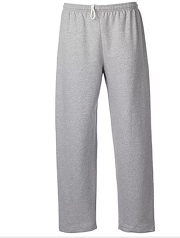 Open Bottom Sweatpants 0-pkt