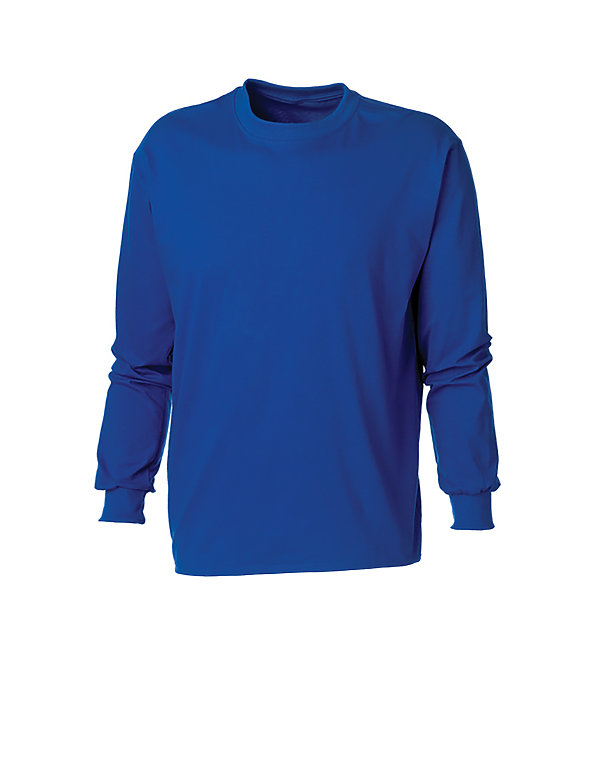 Mock Neck Long-Sleeve Tee