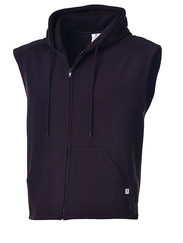 Adult 2Tone Hooded Vest