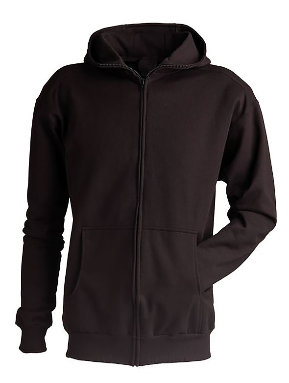 High Collar Full-Zip Jacket