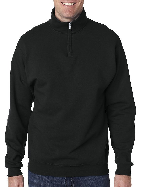 13.5oz Qrtr Zip Cadet Collar