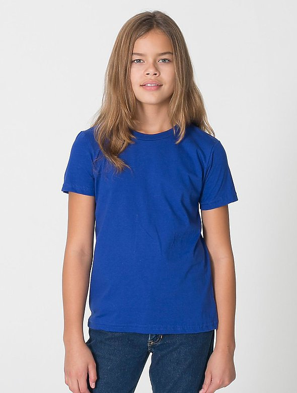 Youth Cotton-Blend Tee