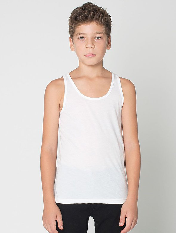 Youth Cotton-Blend Tank Top