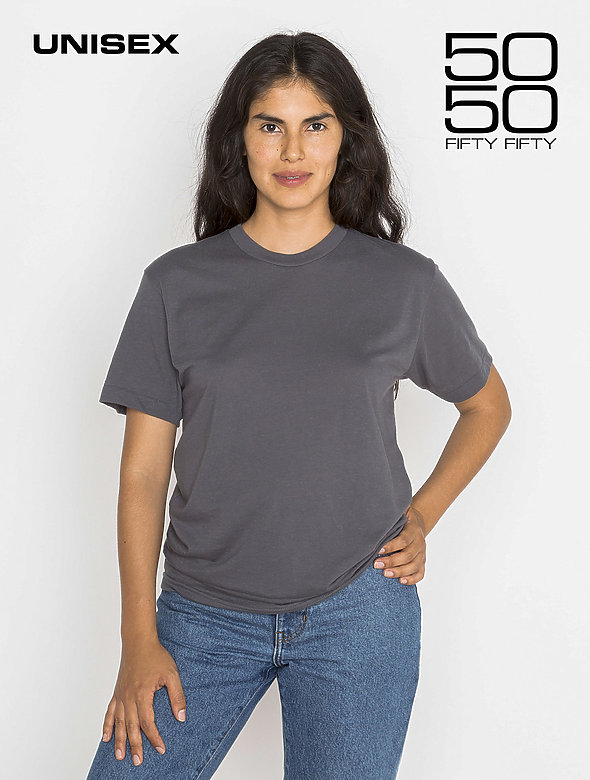 Cotton-Blend Classic Tee
