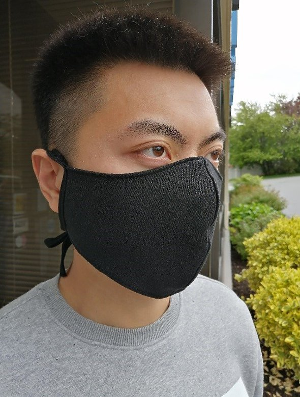 2 Ply Fabric King Mask