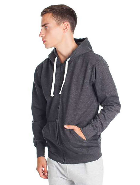 50/50 Fit Hoodie with Zip