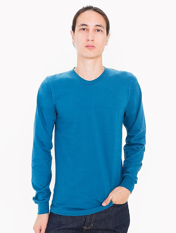 Fine Jersey Long-Sleeve Tee