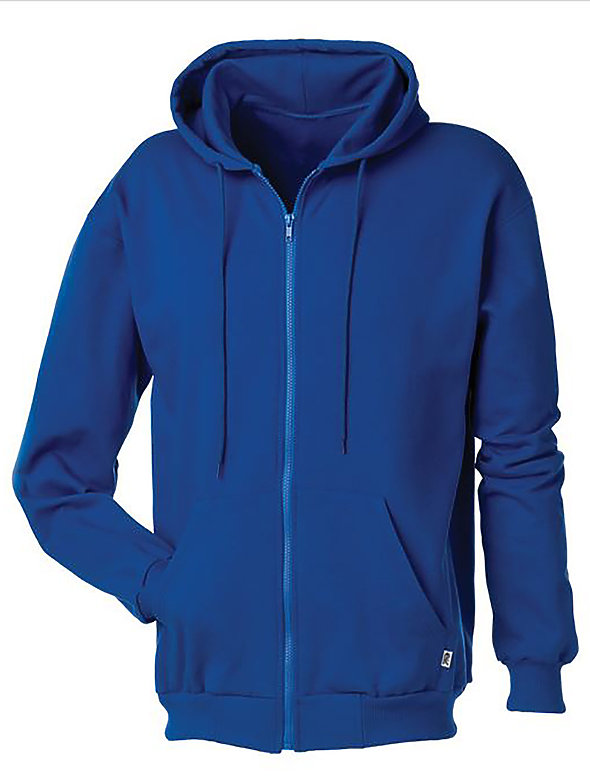Fleece Zip Hooded Sweatshirt