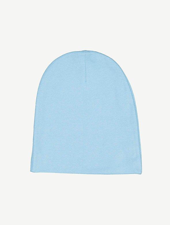 Infant Cotton Baby Rib Cap