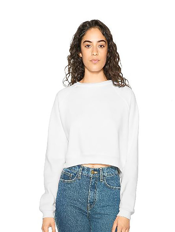Crop Flex-Fleece Pull-Over