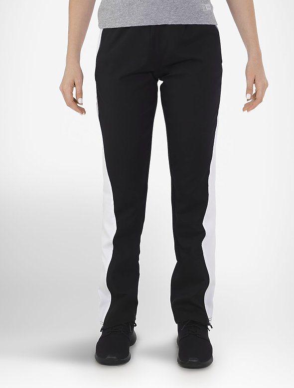 Ladies 2-Pkt Warm Up Pants