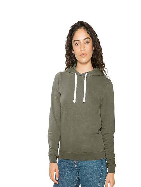 14oz French Mid-length Hoodie