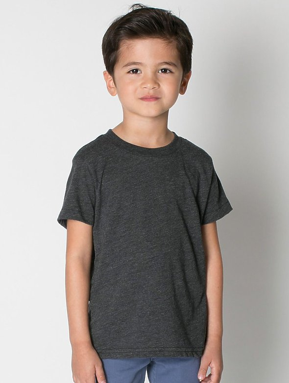 Toddler Tri-Blend Track Shirt