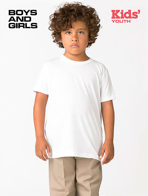 Youth Poly Cotton S/S T Shirt
