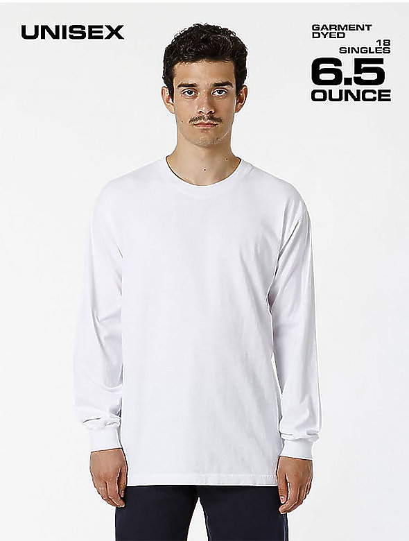 Garment Dye Long-Sleeve Tee