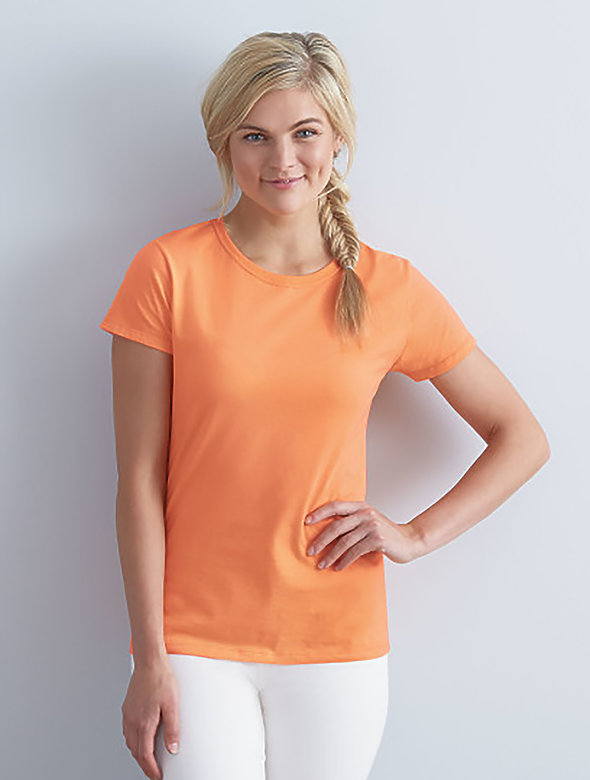 7.8oz LADIES SofSpun Fitted T